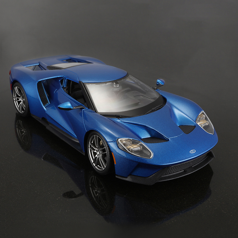 1:18 diecast Car 2017 Ford GT LM GTE pro Le Mans 24-hour race Diecast Car Model Toy Vehicle Car Model Maisto Models Kids Car цены онлайн