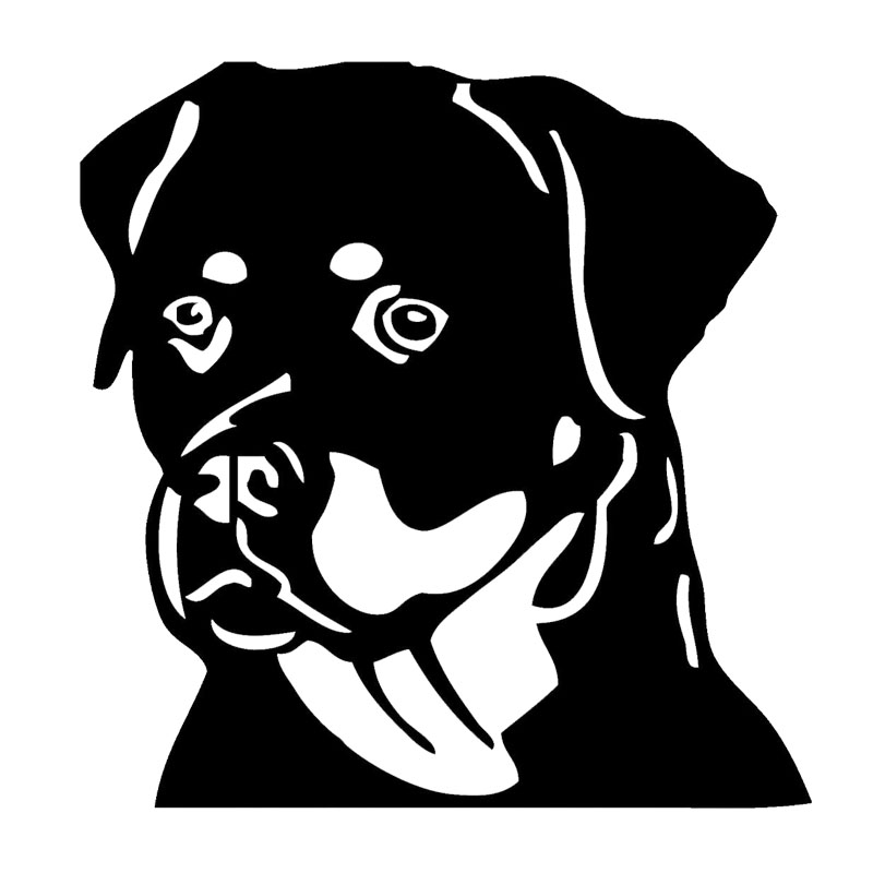 Rottweiler Sticker Reviews Online Shopping Rottweiler