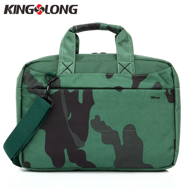 3eecbbf26396 KINGSLONG 13 inch Laptop Computer Notebook handbag Camouflage Fashion Bag  for Men Business Briefcase Shoulder Messenger Bag