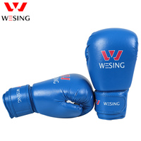 Teenagers Pro Boxing Gloves Muay Thai Training Wesing Micro Fiber Leather Sparring Punching Bag Mitts Kickboxing