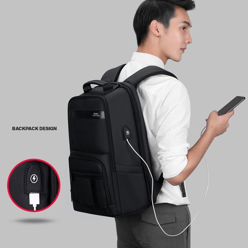 Bolsa de Ombro Laptop Macho Mens Saco Moda