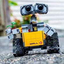 Technic 16003 687 шт. идеи серии робот стены E строительные блоки кирпичи развивающие игрушки для детей совместимы с 21303