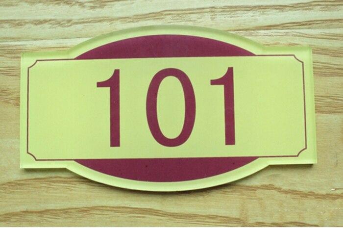 Free Shipping Personalized House Number Door Sign Door