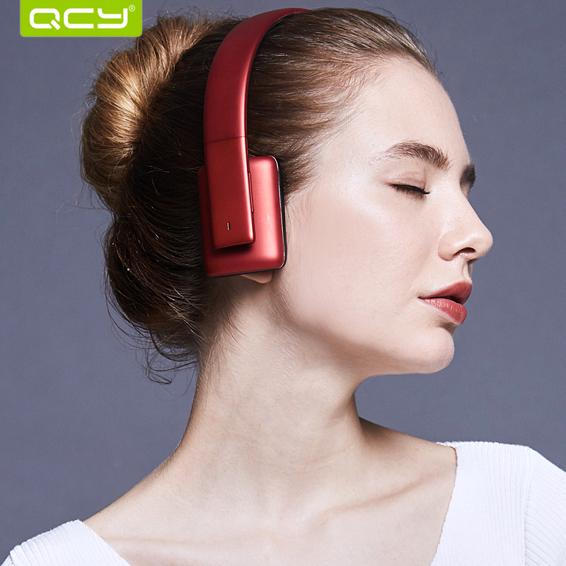 QCY QCY50 HIFI sound headphones wireless bluetooth 4.1 3D stereo headset noise cancelling headphone with MIC remax wireless music bluetooth headphones headset with hd mic noise cancelling hifi sound 3d stereo bass for music phone