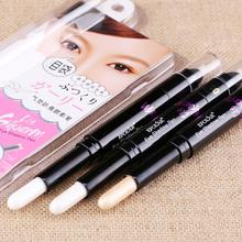 Beauty Highlighter Eye Makeup Contour Pen Double-end Liquid Eyeshadow Shimmer Glitter Eye Shadow Pencil Liner Pen Y2