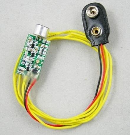 10 copë M01 Mini FM transmetues 60MHZ-128MHZ mini-bug teltap i - Audio dhe video në shtëpi - Foto 3