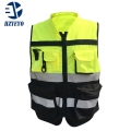 HZYEYO Reflective safety clothes Motorcycle Bicycle Racing High Visibility Reflective Warning Cloth Jacket Vest D9906