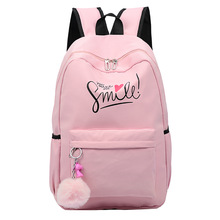Preppy Style Fashion Women School Bag Brand Travel Backpack For Girls Teenagers Stylish Laptop Rucksack girl schoolbag