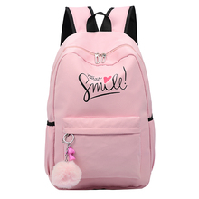 Preppy Style Fashion Women School Bag Brand Travel Backpack For Girls Teenagers