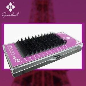 Image 3 - Genielash cils individuels volume extensions de cils haute qualité faux cils vison cils professionnel makeup50pcs/lot