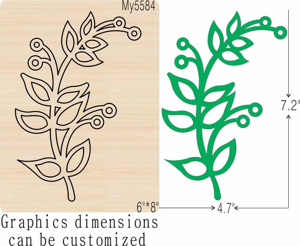 Grüne blätter 1 neue holz form schneiden stirbt für scrapbooking Thickness 15.8mm-in Stanzmesser aus Heim und Garten bei  Gruppe 1