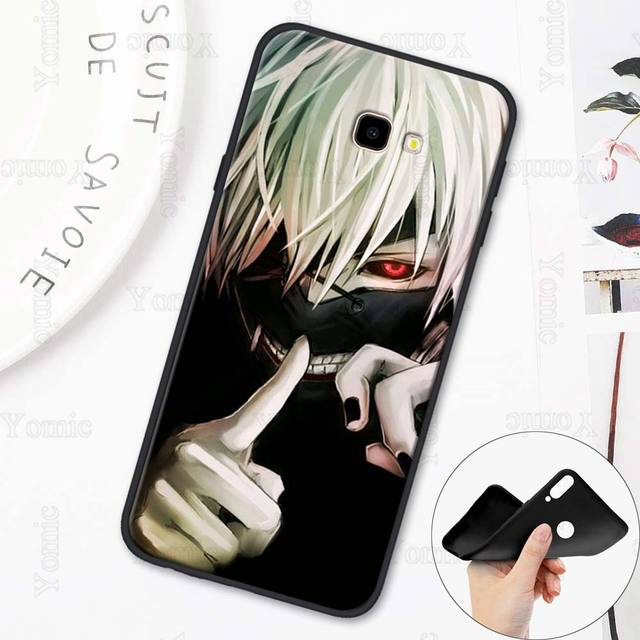 Tokyo Ghoul Black Soft Case for Samsung Galaxy