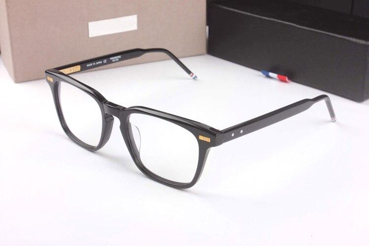 New York lunettes TB402 Prescription lunettes cadres hommes mode lunettes de lecture ordinateur optique cadre avec boîte d'origine - 3