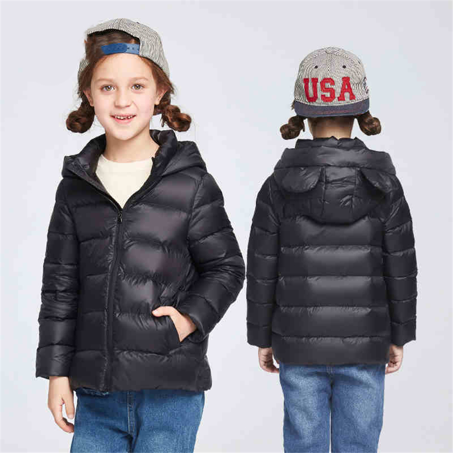 ФОТО Winter Children Jackets Teenage Girls Winter Jackets Warm Outerwear For Girls Winter Kids Down Jacket Autumn Fashion 50F1547