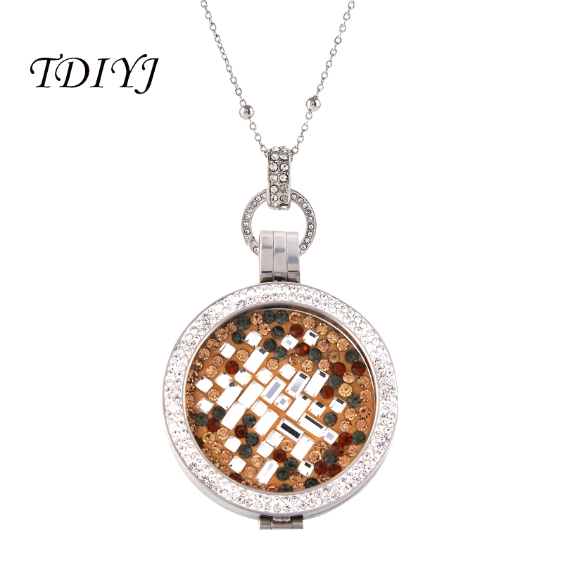 TDIYJ Deluxe Interchangeable Coin Disc Pendant With