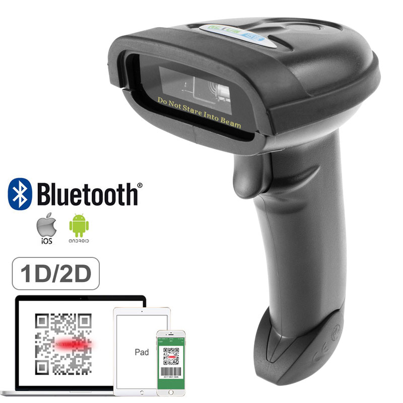 NETUM NT-1228BL Bluetooth QR 2D Barcode Scanner AND NT-1228BC Wireless Bluetooth CCD Barcode Reader for Mobile Screen Payment nt 1228bl bluetooth qr 2d pdf417 barcode scanner and nt 1228bc wireless bluetooth ccd barcode reader for mobile screen payment