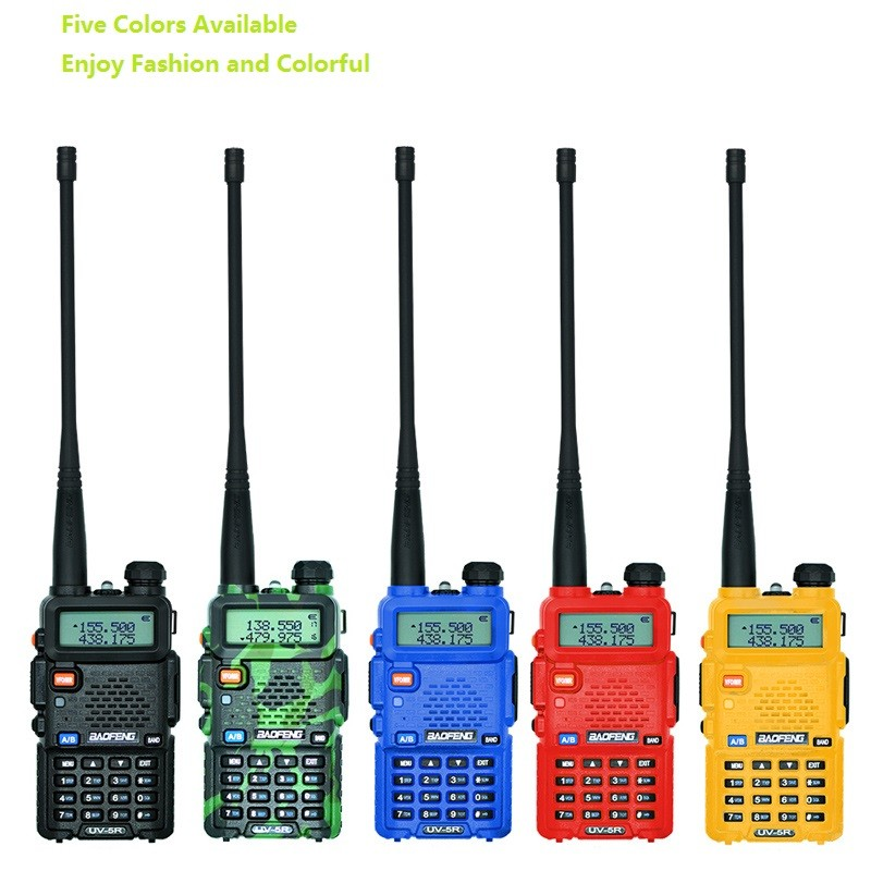 BaoFeng-UV-5R-Walkie-Talkie-UHF-VHF-Dual-Band-UV5R-CB-Radio-128CH-FM-VOX-Flashlight