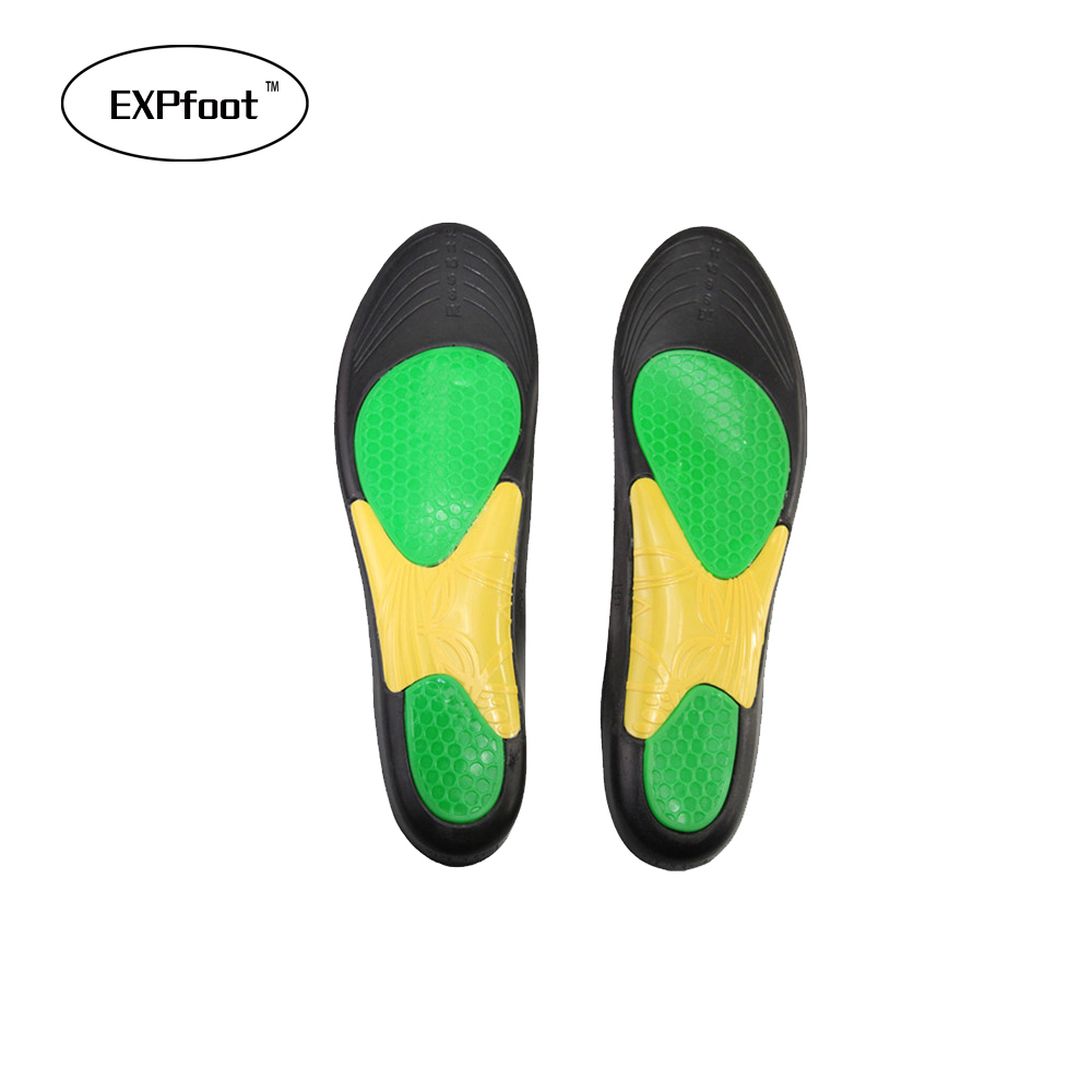 8-12 Sport insoles shock absorption pads basketball and running sport shoes inserts breathable insoles foot health care for men kotlikoff shoes pad foot care for flat foot arch support orthotic running sport insoles shock absorption pads shoe inserts