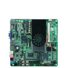 China Cheap Intel I5-3317U Processor digital signage Thin clients POS board all in one mini pc motherboard