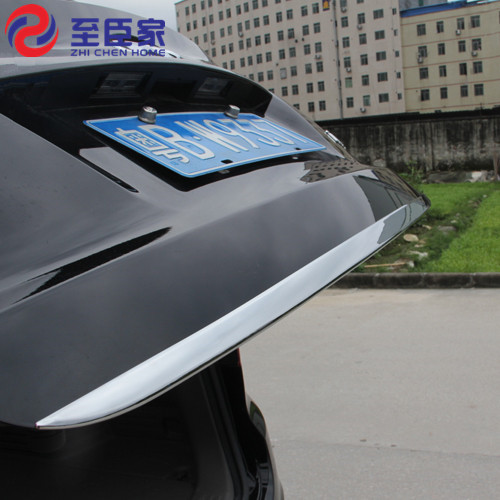 Car-Accessories Molding-Trim Back-Door Hyundai Ix35 Stainless-Steel Bottom-Cover Tailgate