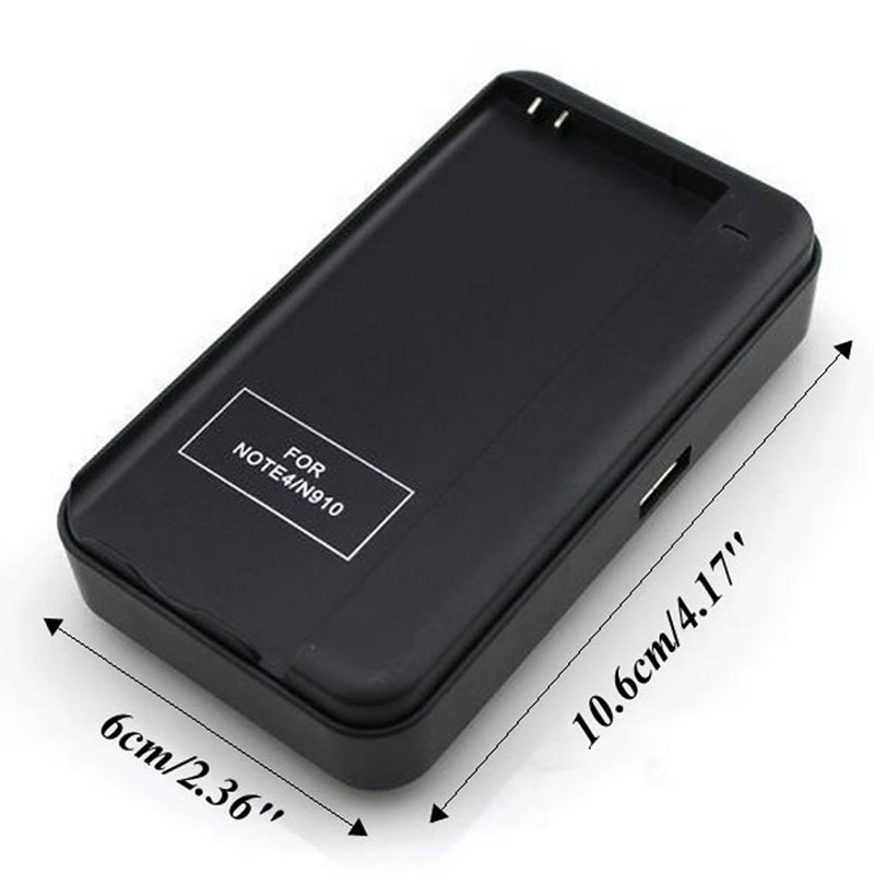2019 USB External Desktop Wall Dock Battery Charger For Samsung Galaxy Note 4 IV N910