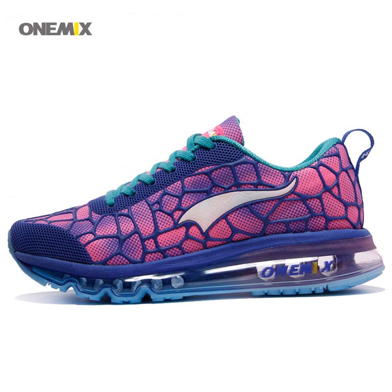ФОТО ONEMIX 2016 Hot Unisex Free 1096 Water Cube Training Running Shoes Sport Women's AIR Sneaker