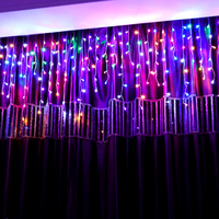 10M 320 Bulbs Garland LED Curtain String lights Outdoor Weeding Decorative LED Lights For Holiday Party Christmas Decorations