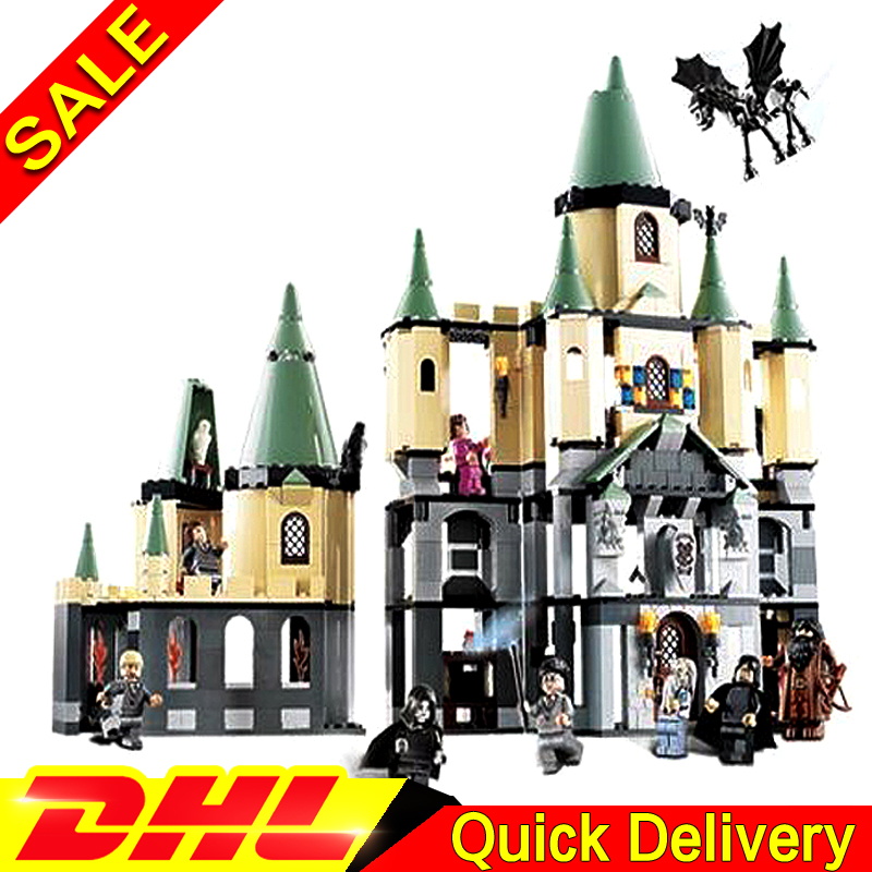 Lepin 16029 1033Pcs Movie Kits magic Hogwort Castle Model Building Blocks Bricks Educational Toys for Children Gifts Clone 5378