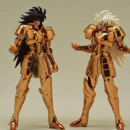 Toyzone Saint Seiya Myth Cloth EX Gemini / Gemeaux / Gemeos / Geminis / Gemelli Saga Action Figure no name юбка с золотистыми пайетками