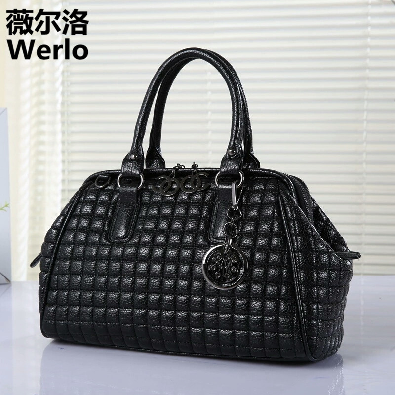 WERLO Brand Designer 2017 New High Quality Women Bags Big Handbag PU Leather Ladies Bags Fashion Female Shoulder Bag Totes SJ193