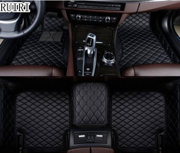 Best quality & Free shipping! Custom special floor mats for BMW 520i 525i 530i 535i GT F07 2016-2010 durable waterproof carpets