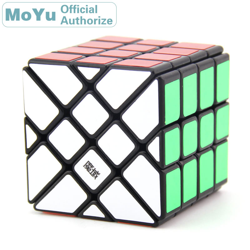 MoYu AoSu bord volant 4x4x4 Cube magique 4x4 Cubo Magico professionnel néo vitesse Cube Puzzle Kostka Antistress Fidget jouets