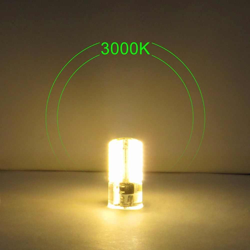 G4 светодиодный лампы Бен-контактный светодиодный лампочки 3 W (30 Вт галогенный эквивалент) 360 люмен 110 V 120 V теплый белый 3000 K (упаковка 10 шт) ST389