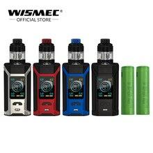 [Loja oficial] Wismec SINUOSO RAVAGE230 kit com GNOME Evo Tanque 2 ml/4 ml RAVAGE 230 Eletrônico cigarro com 2 pcs 18650 Bateria
