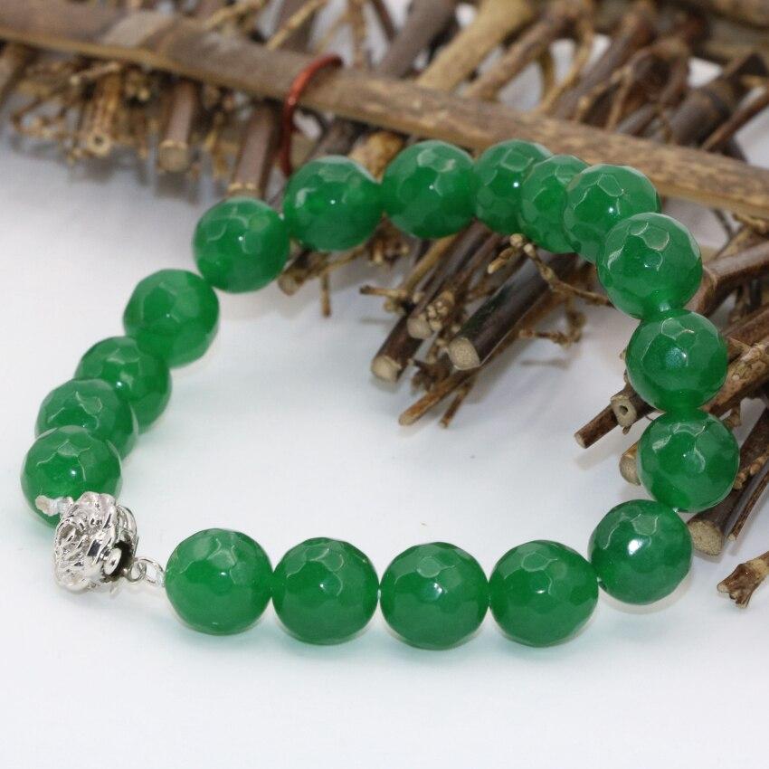 bracelet jade vert véritable
