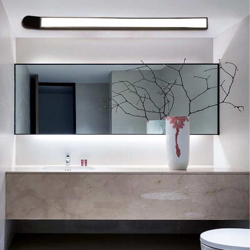 Contemporary Led Ceiling Lights For Bathroom Mirror Front Light