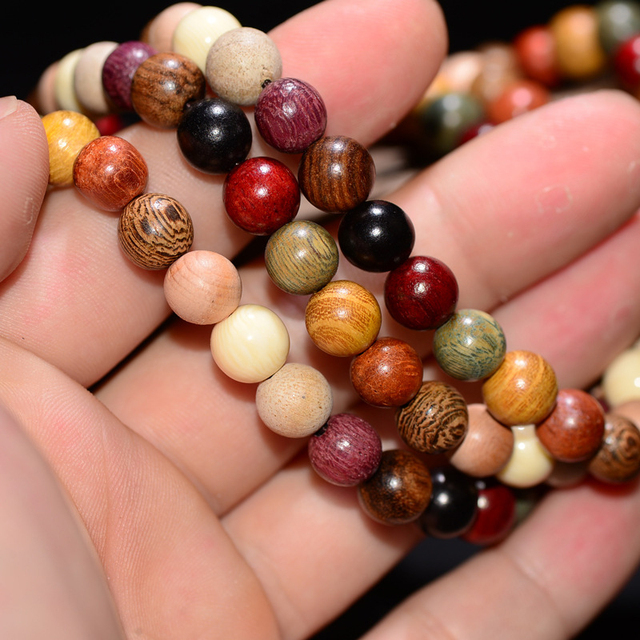 108 Bead Sandalwood Mala Beads 1