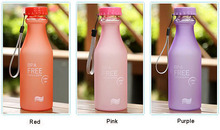 1 pcs 550ml sport Bottle Leak-proof fruit EPA free travel cycling drink water Cup