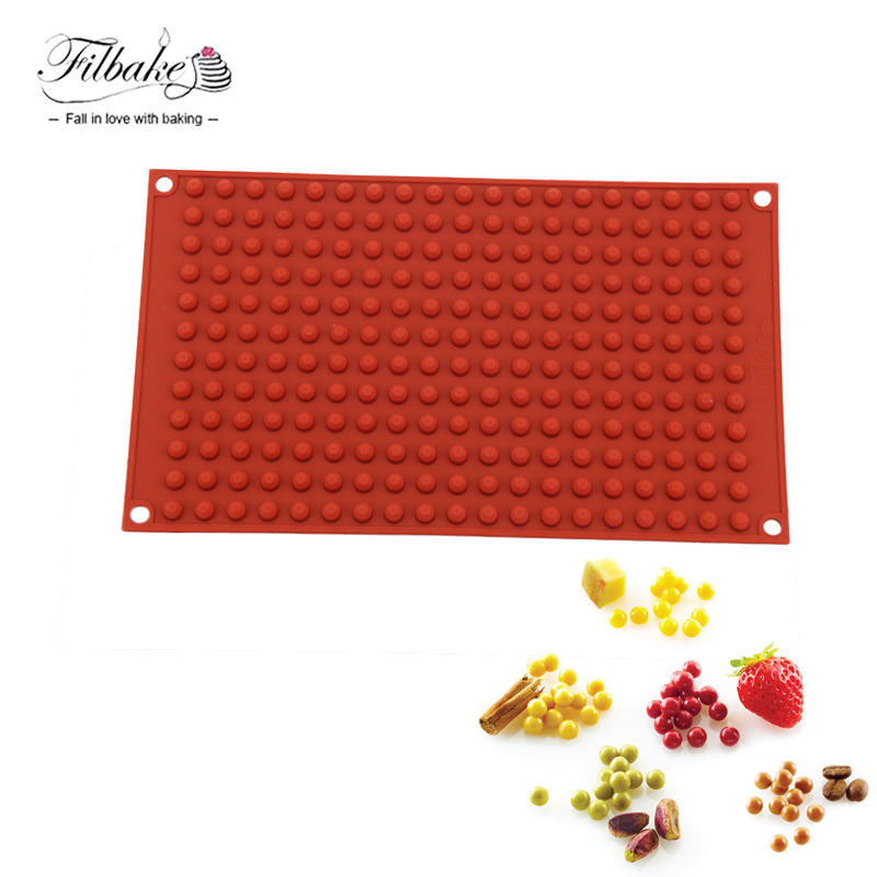 FILBAKE Kitchen Accessories Baking Decorating Moulds Round Ball Mini Cake Molds Fondant Mold For Cakes Decorating Tools
