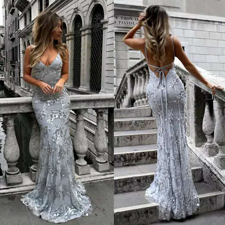 E23 Girl National Pageant Wedding Formal Party Dress Blue 3 4 5 6 7 8 10 12 14