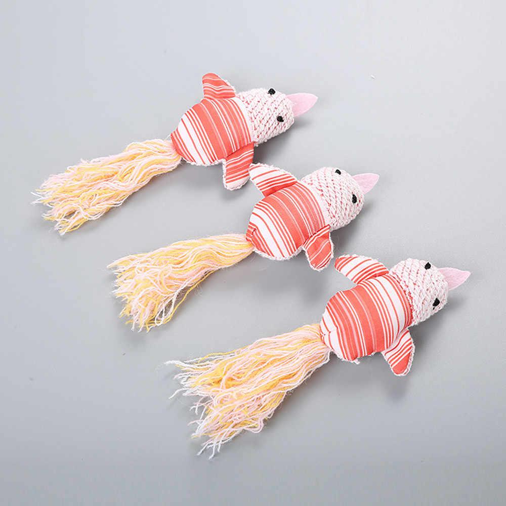 Engraçado Gato de Estimação Brinquedo Pano Pássaro Cor de Rosa Com Cauda De Lã Suprimentos Para Animais de Estimação Interativo Brinquedo Teaser de Brinquedo Parágrafo Gato venda quente