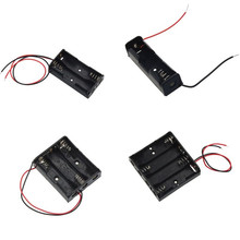 Box-Holder Storage-Case Leads Power-Battery Aa-Size with 1-2-3-4-Slots 0616
