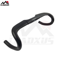цена на LEADXUS ZHB05 2018 Newest Aero Carbon Handlebar Road Bike Handlebar/Drop Bar Carbon Aero Bicycle Handlebar Size 400/420/440mm