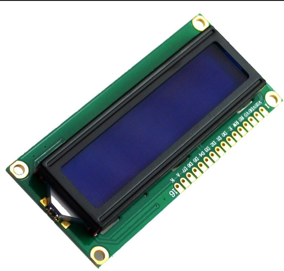 1pcs LCD1602 LCD monitor 1602 5V blue screen and white code for arduino ...