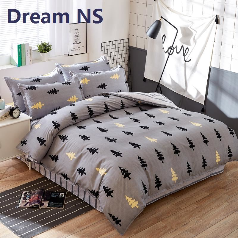 Dream Ns Christmas Pine Pure Printing Bedding Set