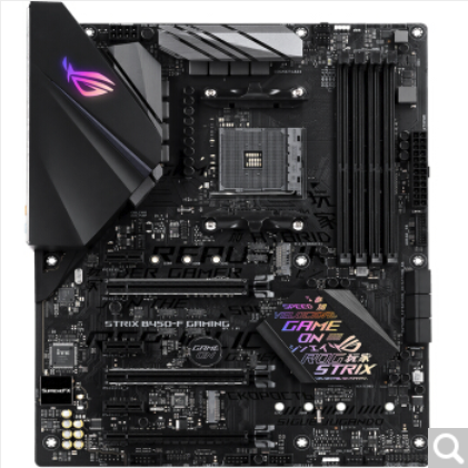 Asus ROG STRIX B450-F GAMING Supports AM4 Processor