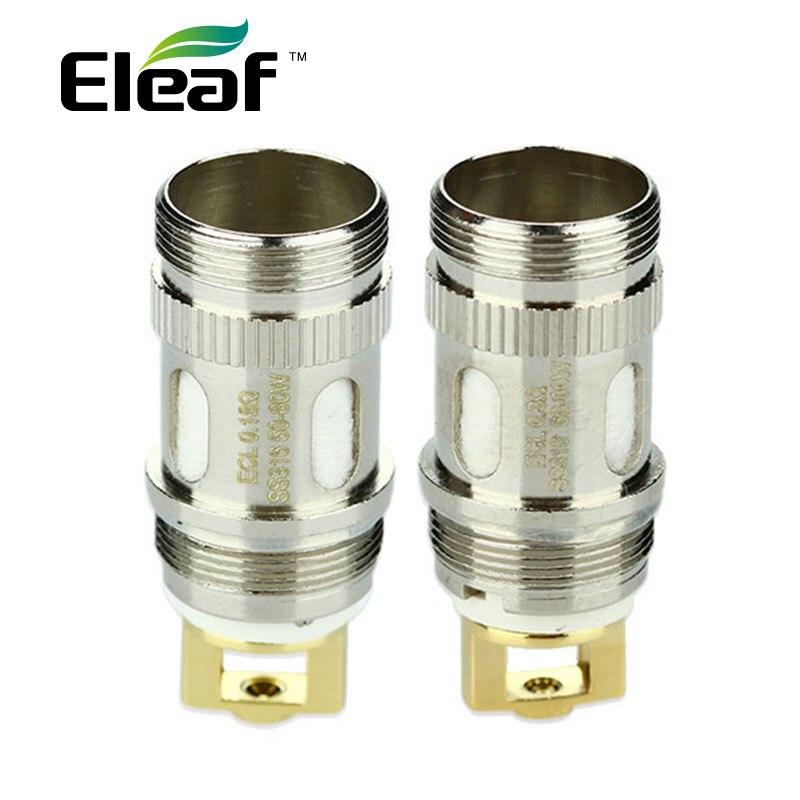 50pcs Eleaf ijust 2/ ijust s ECL Coil 0.3ohm/0.18ohm for Melo/Melo 2/Melo 3/Lemo 3 Atomizer ECL Atomizer Head Coil Evaporizer