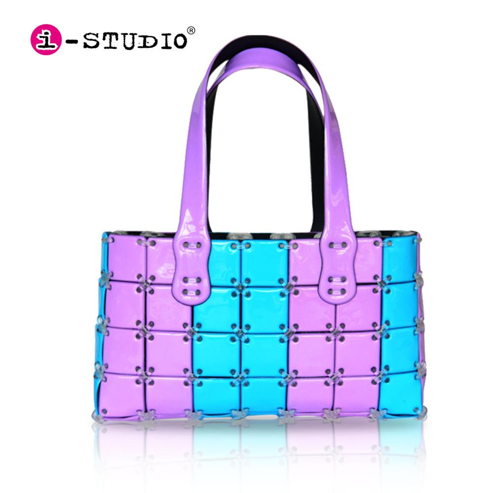 Make Your Own DIY Handmade Handbag Purse Girl Puzzle Stitching Fashion Design Kit Crafts Toys Christmas Gifts
