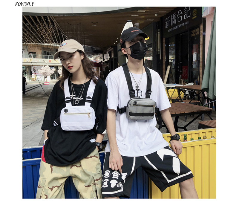 HTB1R40MaWL7gK0jSZFBq6xZZpXaf - New Chest Bag For Men Tactical Vest Bag Casual Function Chest Rig Bags Streetwear For Boy Waist Pack Male Kanye 072002