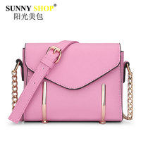 SUNNY SHOP 2017 New Women Bag Envelope Handbags Fashion Chain Messenger Crossbody Bags Female Sequied Clutch